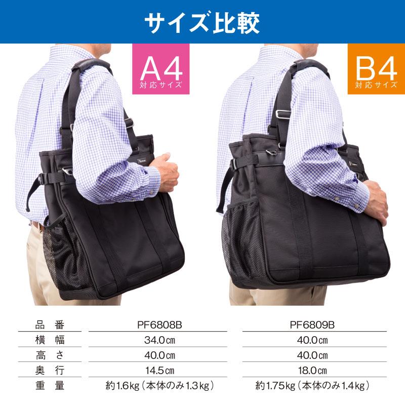 pf6808bとpf6809bのサイズ比較