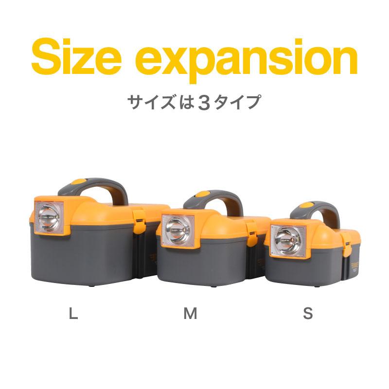 サイズはL、M、Sの3タイプ