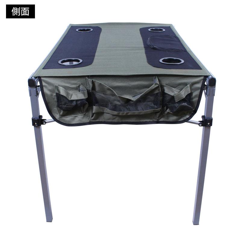 【ls-odtb01】簡単折りたたみテーブル,側面